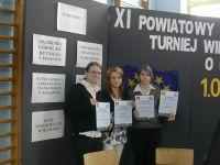 XI Turniej Wiedzy o Unii Europejskiej