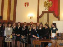Odebranie dyplomów