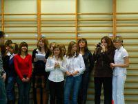 Wigilia szkolna - grudzień 2008
